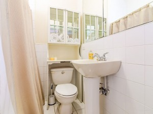 Bathroom with shower from A1